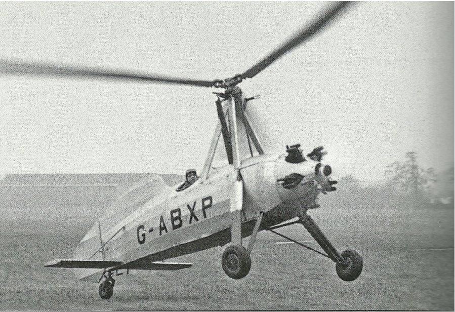 Cierva flies C.19 Mk.V with horizontal tail