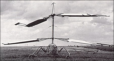 Ascanio's Helicopter
